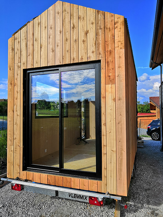 Structure de la tiny house